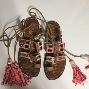 9bf5021d5cb Sam Edelman Shoes - Sam Edelman Gretchen Embroidered Sandals